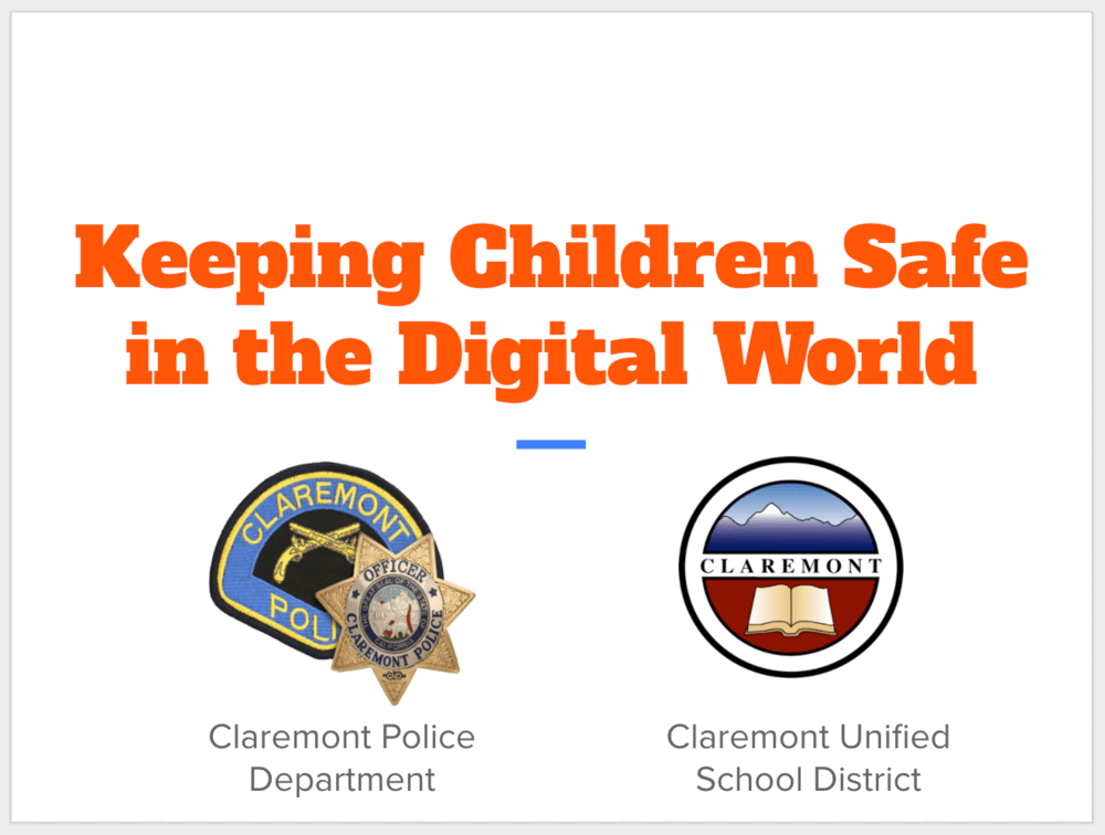 Keeping Children Safe in the Digital World logo